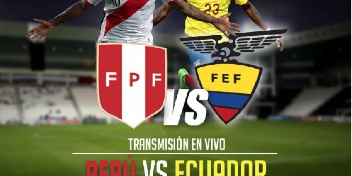 Los canales que transmitirán el partido de Ecuador vs Perú
