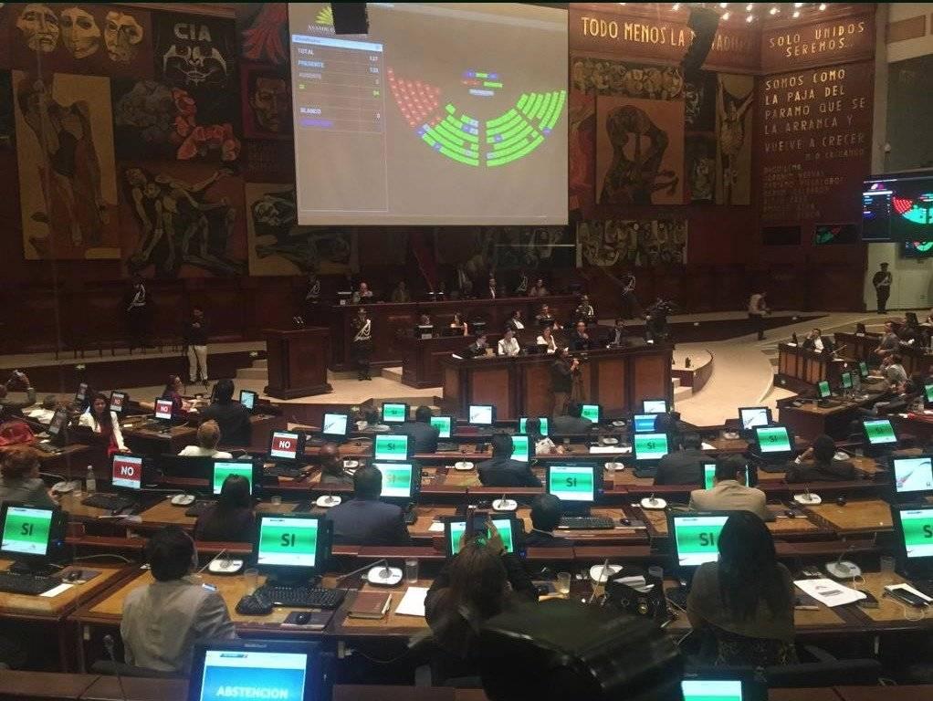 Asamblea Nacional destituyó a la legisladora Sofía Espín API