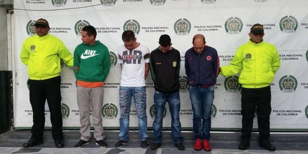 Caen 'Los Costa', responsables de al menos 12 homicidios en Bogotá