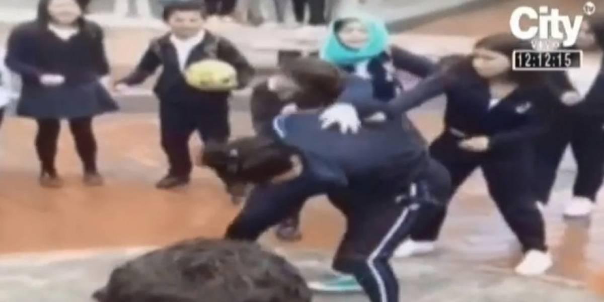 Video: denuncian riñas entre estudiantes a las afueras de los colegios en Bogotá