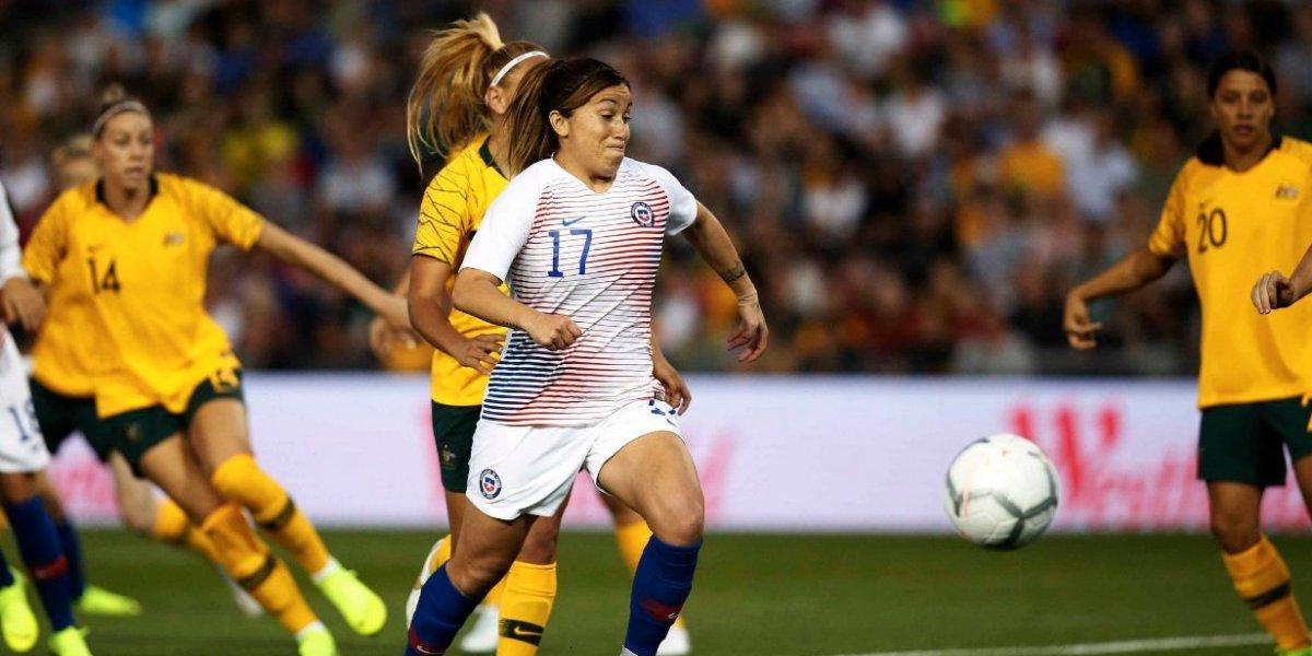 La Roja Femenina no pudo repetir su buena presentación ante Australia y perdió por goleada