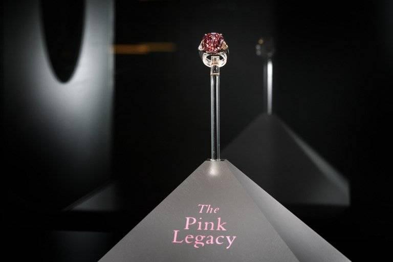 "Diamante ""Pink Legacy"""