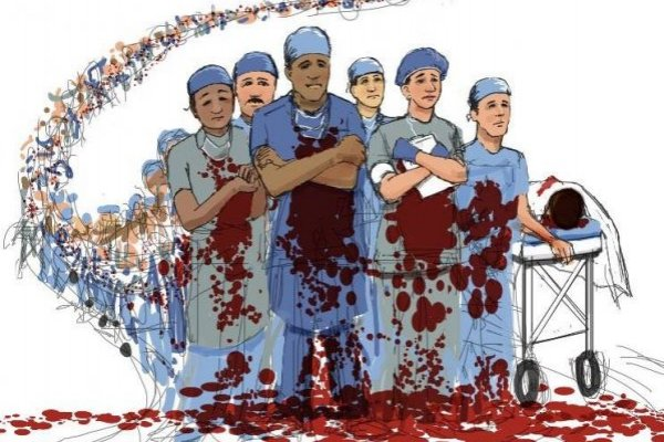 médicos sangre NRA