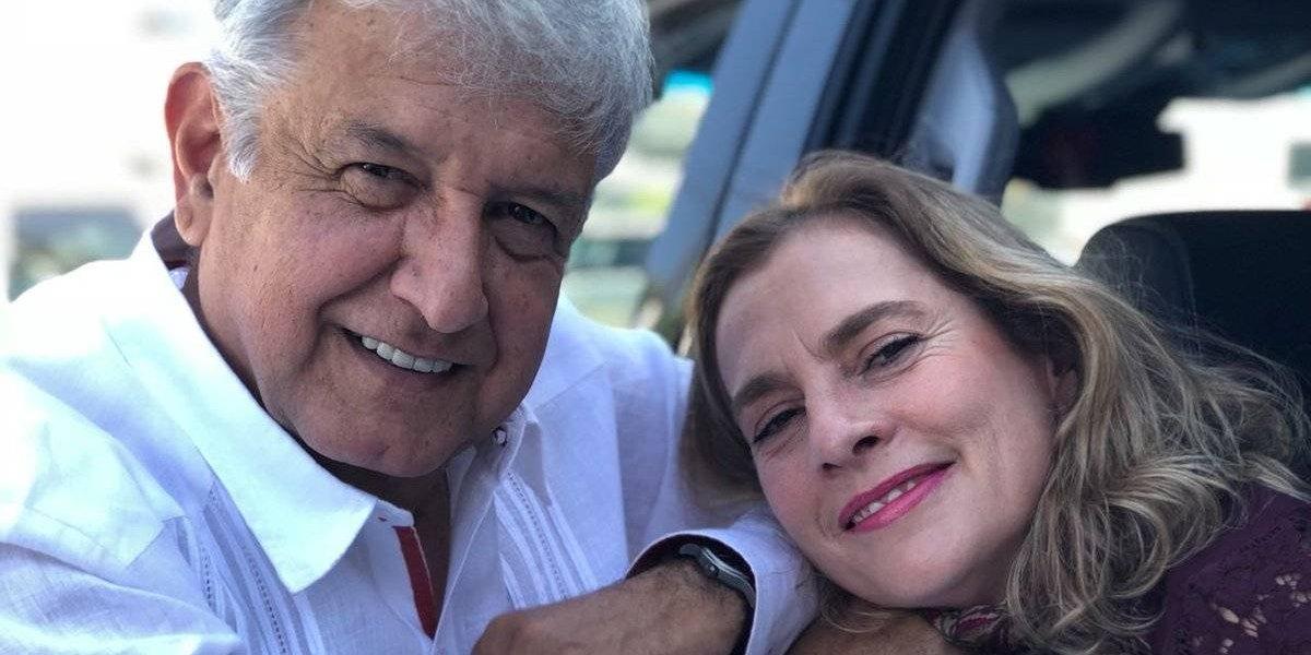 Beatriz Gutiérrez Müller felicita a AMLO con mensaje en Twitter