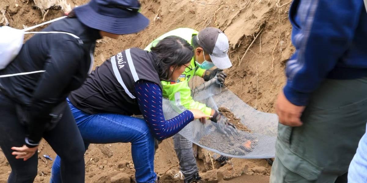 Los restos encontrados en Bellavista no corresponden a Juliana Campoverde