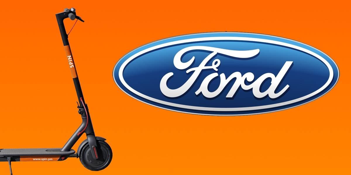 Ford compra Spin y ahora es dueño de un negocio de scooters