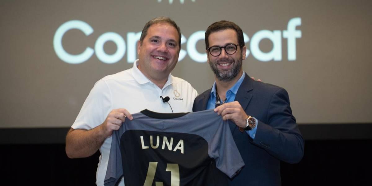 Manuel Luna recibe planes desarrollo de la Concacaf