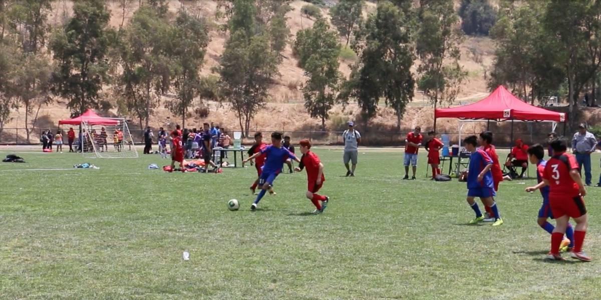 Los niños protagonizan de la cuarta edición del torneo de futbolito en La Pincoya apoyado por Chevrolet