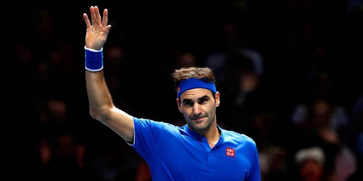 Roger Federer da nueva cátedra de tenis y revive en las Finales de la ATP en Londres