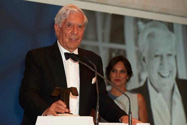 Escritor peruano Mario Vargas Llosa