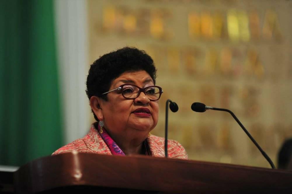 Ernestina Godoy, coordinadora de Morena en el Congreso de la CDMX Foto: Twitter @GPMorenaCdMex