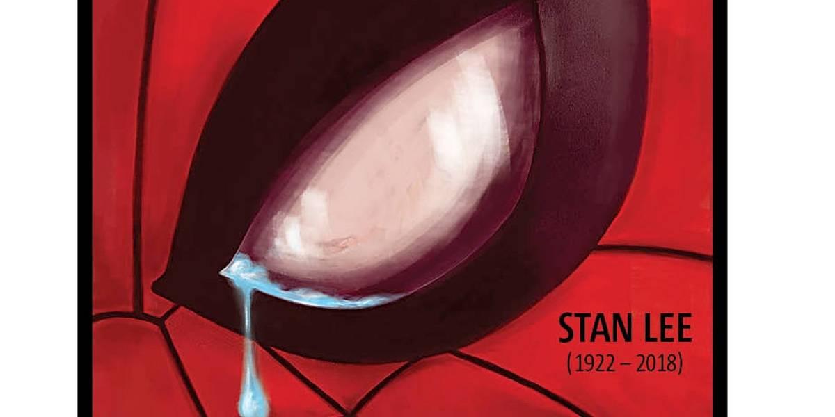 Baixe aqui o pdf da capa do Metro em homenagem a Stan Lee