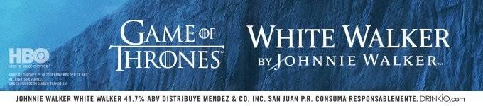 White Walker Johnnie Walker