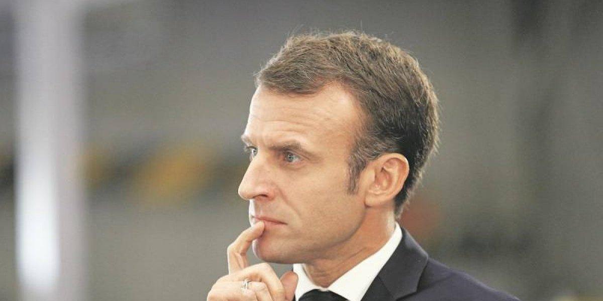 """Presidente de EEUU se va contra su """"amigo"""" Macron"""