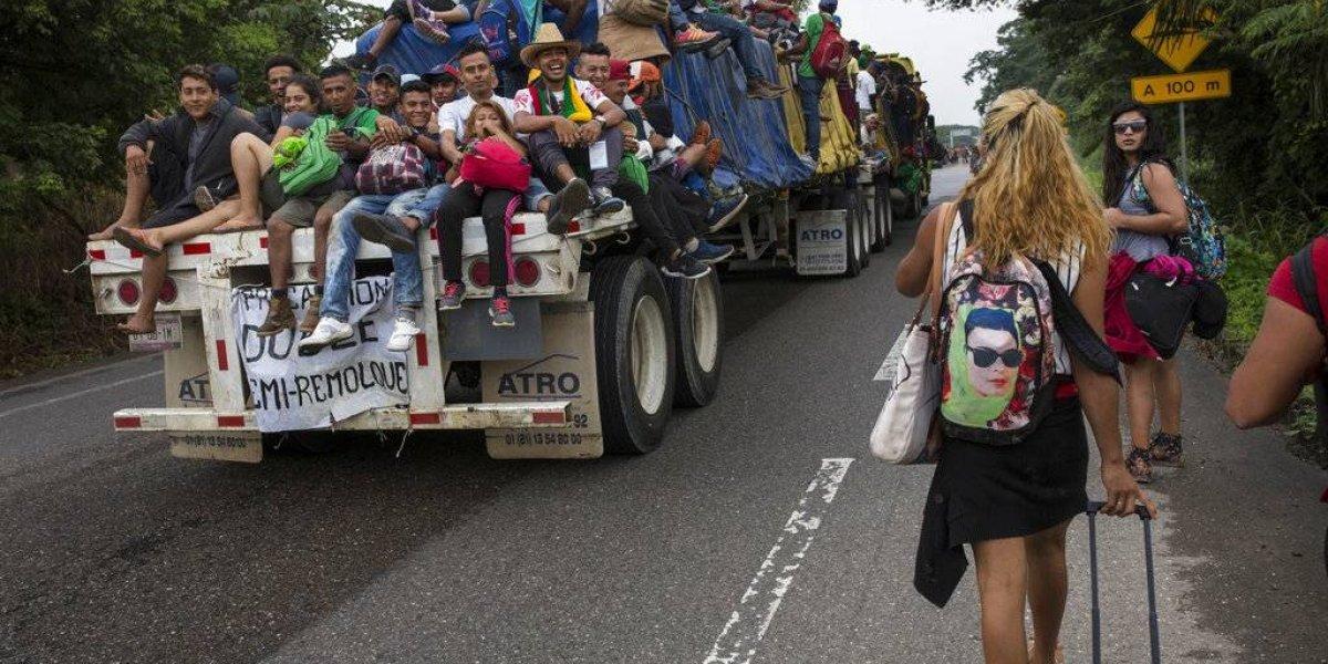 Migrantes transgéneros enfrentan peligros en caravana hacia EE. UU.