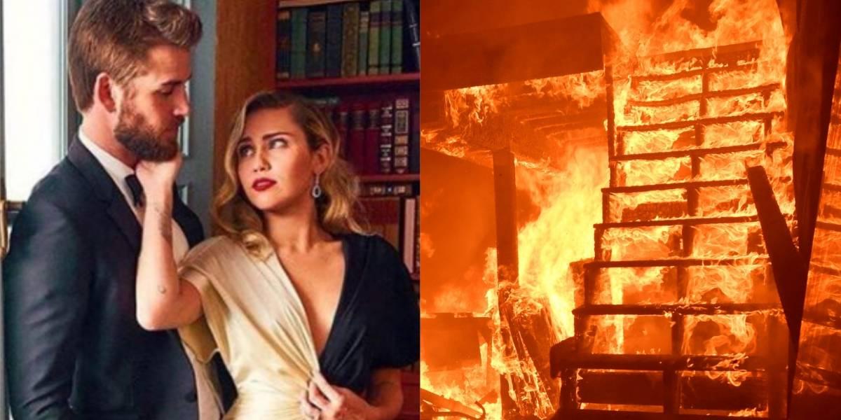 Miley Cyrus e Liam Hemsworth cancelam casamento após perderem casa na Califórnia