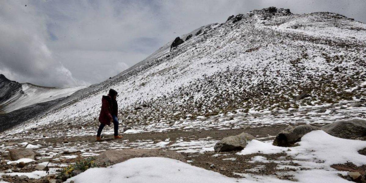 Se espera la caída de nieve y aguanieve en la CDMX