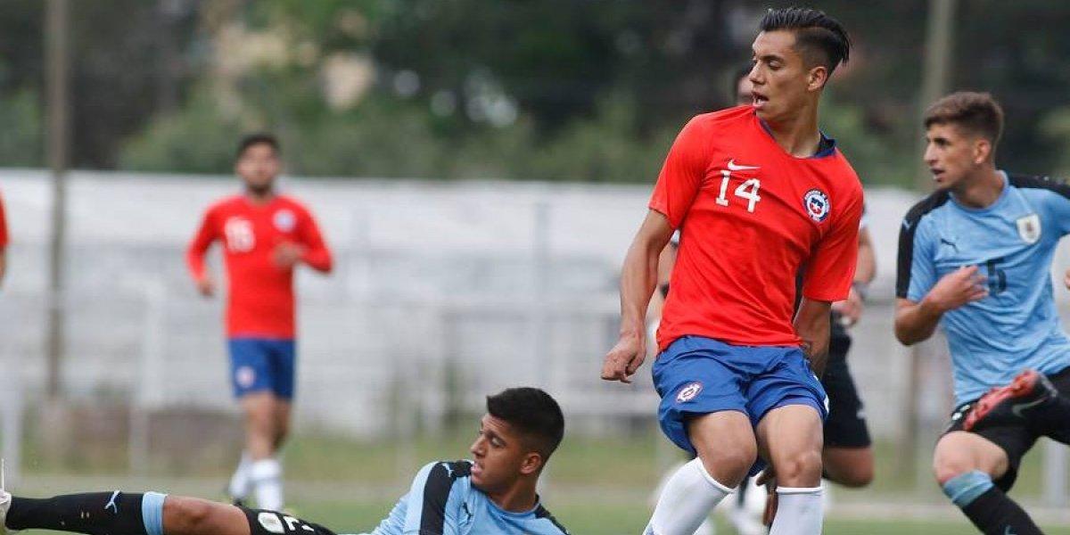 La Roja Sub 20 no pudo con un luchador Uruguay y cayó por penales en amistoso