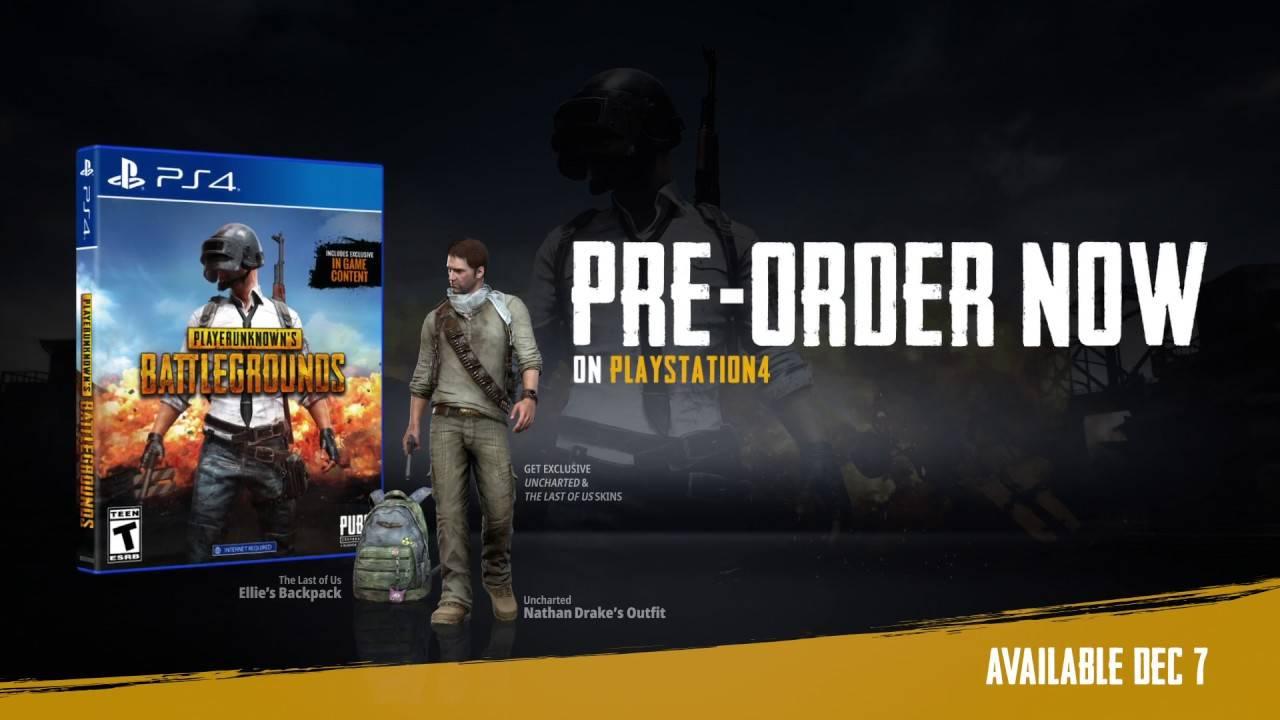 ¡Oficial! Confirman que PlayerUnknown's Battlegrounds llegará a PlayStation 4