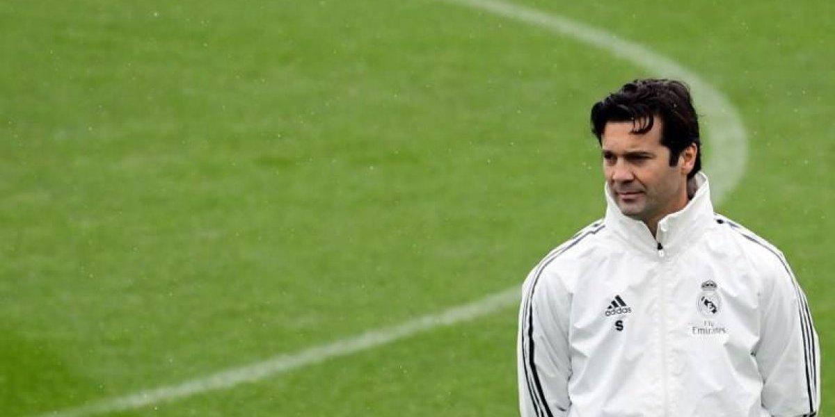 El Real Madrid hace oficial por cuánto tiempo firmó Solari como técnico