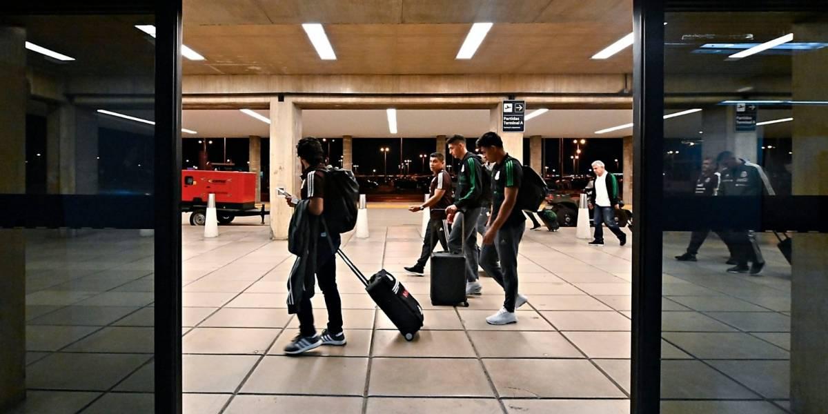Tras 15 horas de viaje, el Tri llega a Argentina para la fecha FIFA