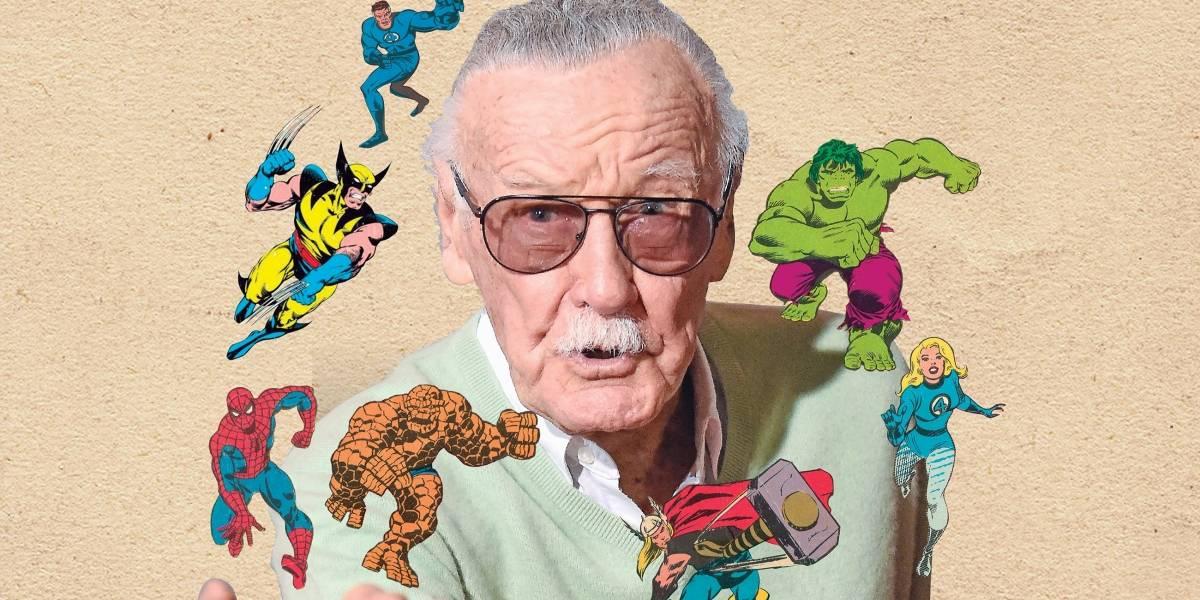 Filha de Stan Lee revela personagem inédito criado com o pai