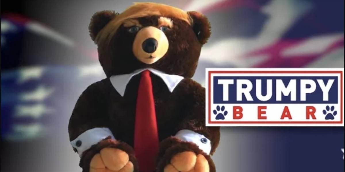 """VIDEO. Así es el comercial viral de """"Trumpy Bear"""", el osito de pelucheinspirado en Trump"""
