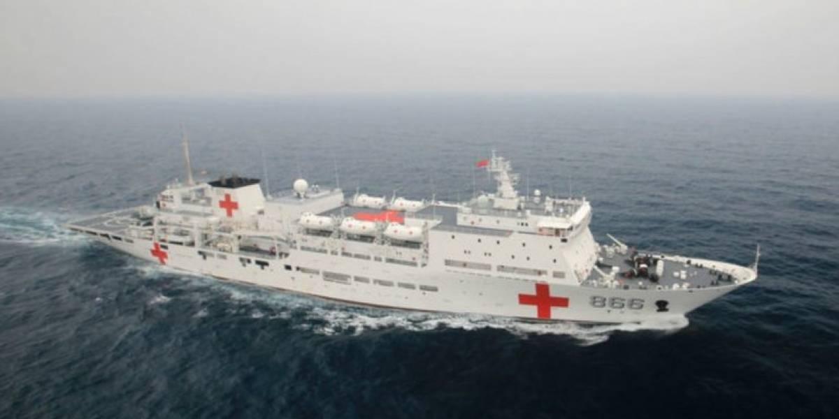 """Guayaquil recibirá a buque hospital chino """"Arca de la paz"""""""