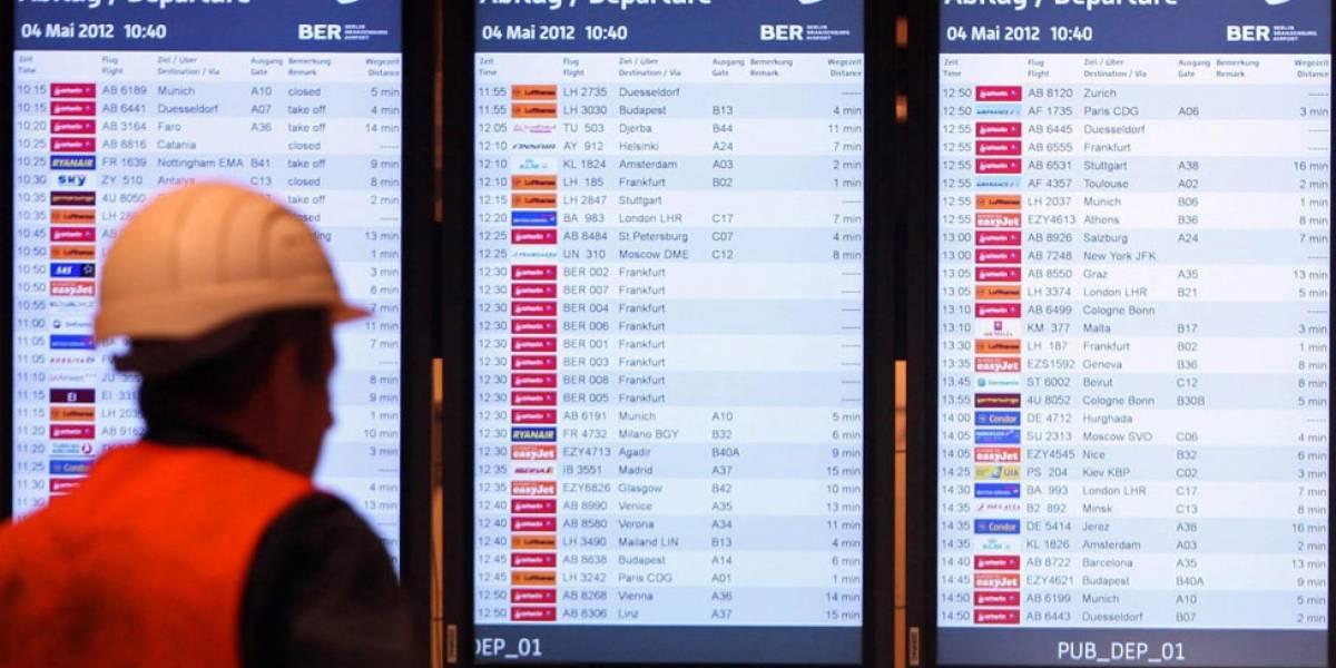"""Brandenburg Willy Brandt: por qué Berlín tiene un moderno y costoso aeropuerto """"fantasma"""" que nadie ha usado"""