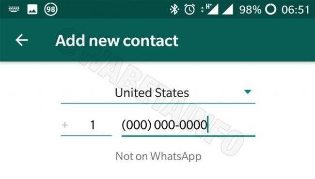 WhatsApp permitirá código QR