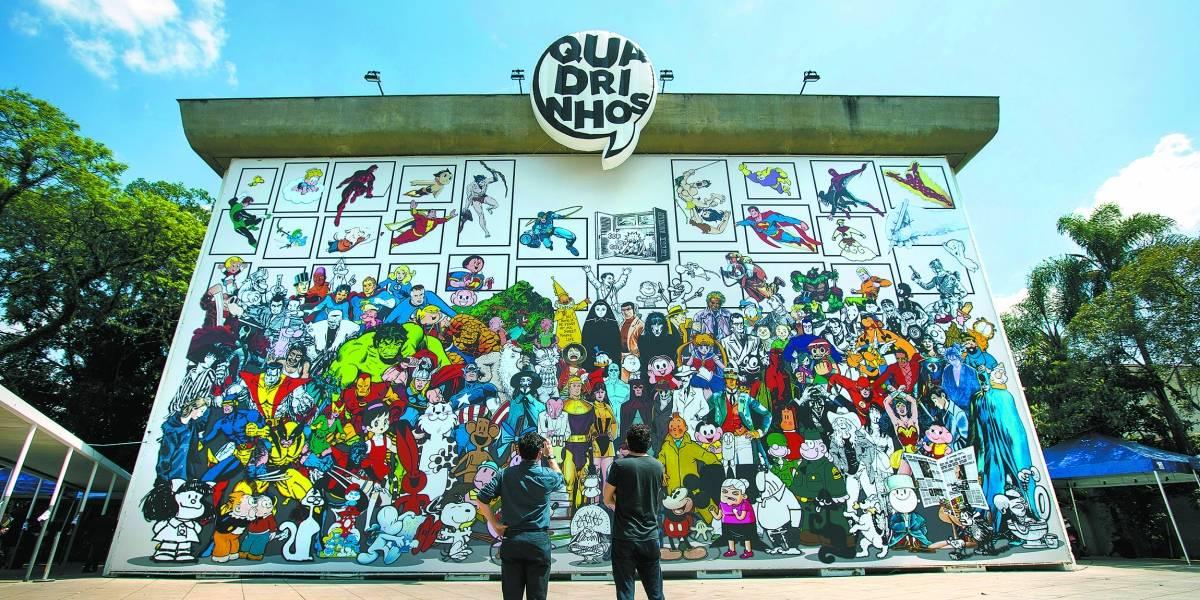 Quadrinhos: exposição vai muito além de Marvel e DC Comics