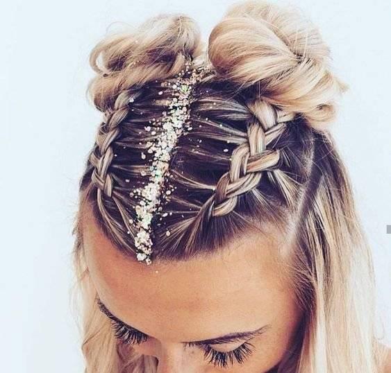 peinados para festival