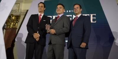 Kevin González Gerente del Año