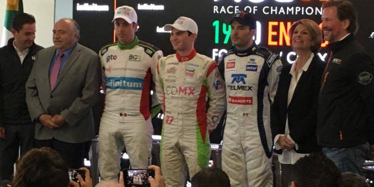 Rojas, Guerra, O'Ward y Suárez, pilotos mexicanos confirmados para ROC