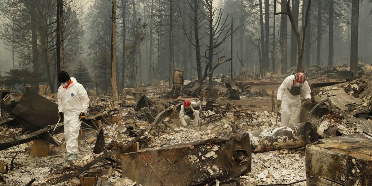 Sube a 48 el total de muertos por incendios en California