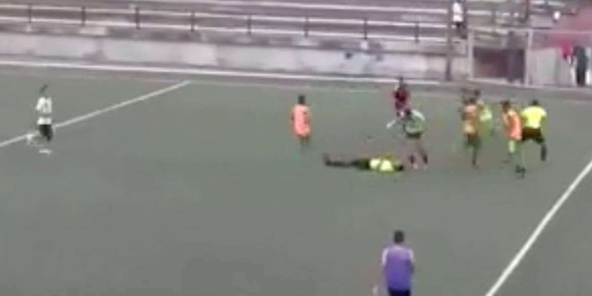 Caracas FC condenó agresión de jugadores del Minasoro FC a cuerpo arbitral