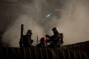 Dos fallecidos dejó incendio en Cerro Navia: mujer de 59 años y un anciano