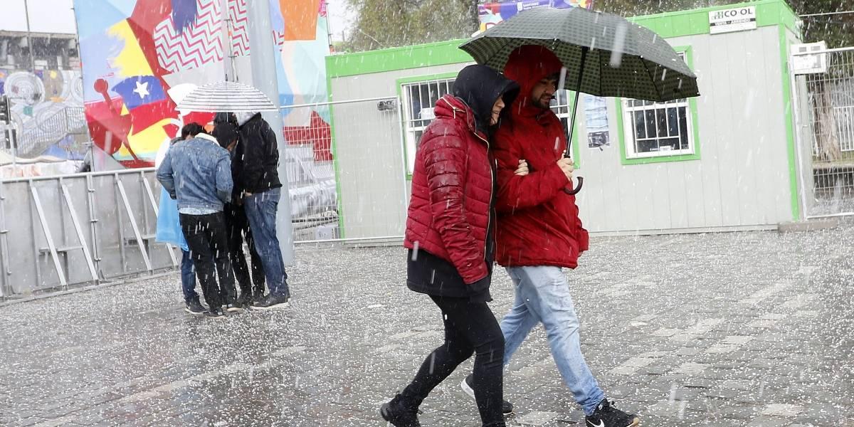 ¿Qué sucede con el clima en Santiago?