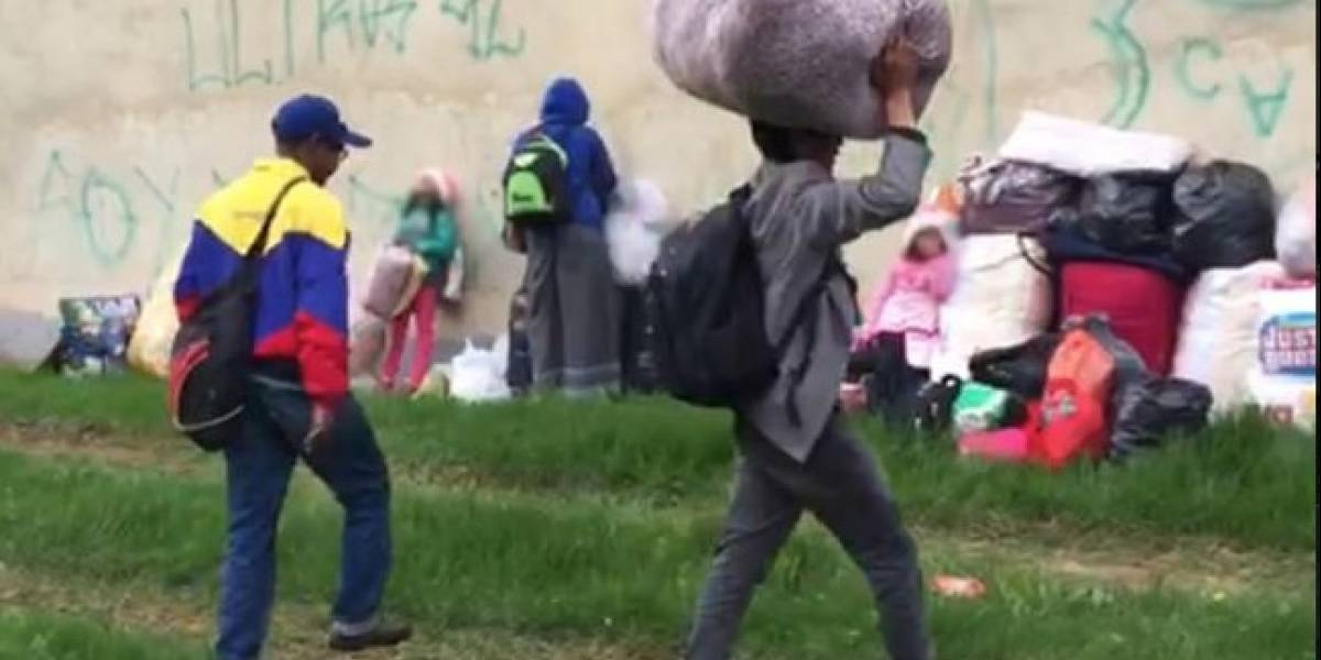 Más de 500 venezolanos fueron reubicados del terminal Salitre