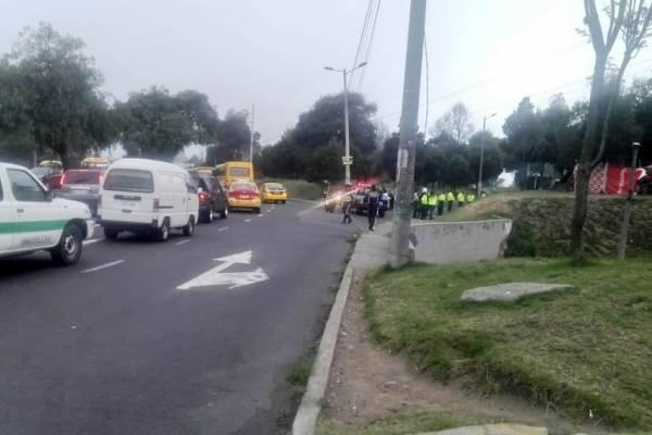 Quito: AMT reporta cierre vial en los alrededores del Terminal de Carcelén
