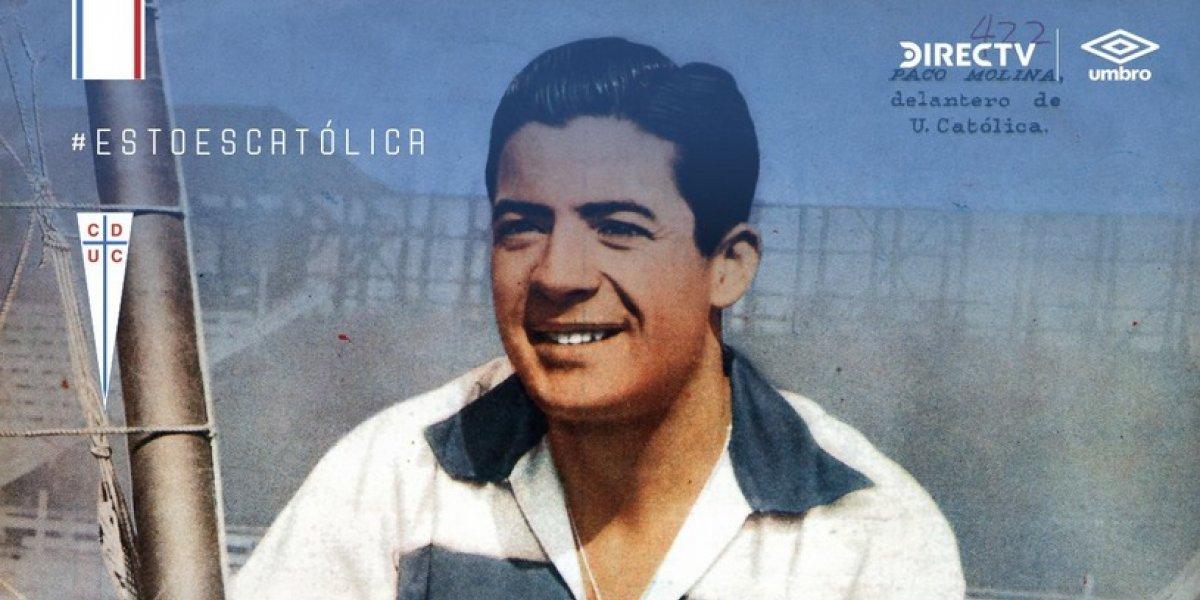 Falleció el histórico ex jugador Paco Molina