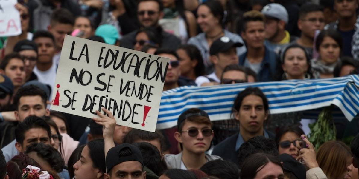 Siga en vivo las marchas convocadas para Halloween en Bogotá