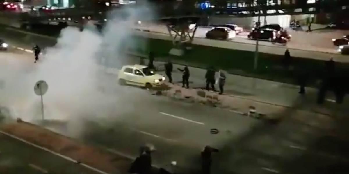 Estudiantes de la Nacional denunciaron que Esmad los atacó dentro de la universidad