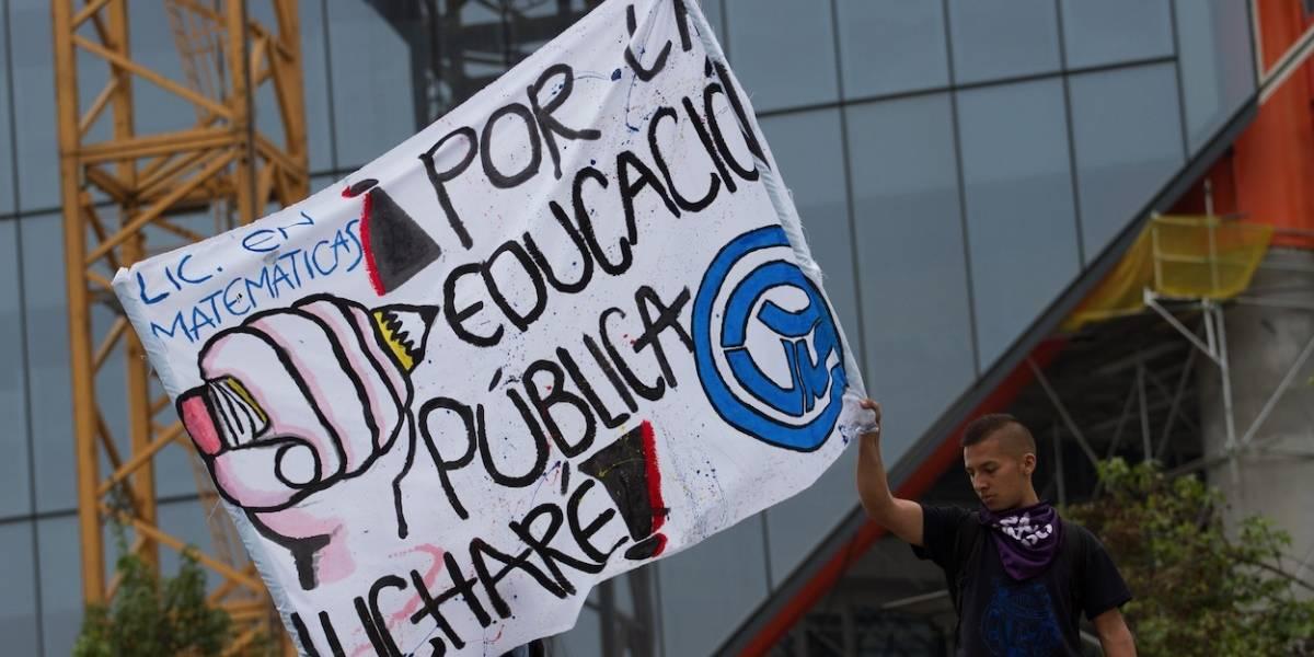 Estaciones de TransMilenio cerradas por marchas de este jueves