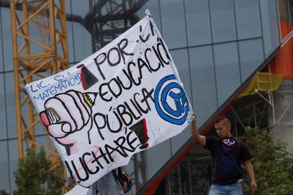Las vías que estarán congestionadas en Bogotá por marchas de este jueves