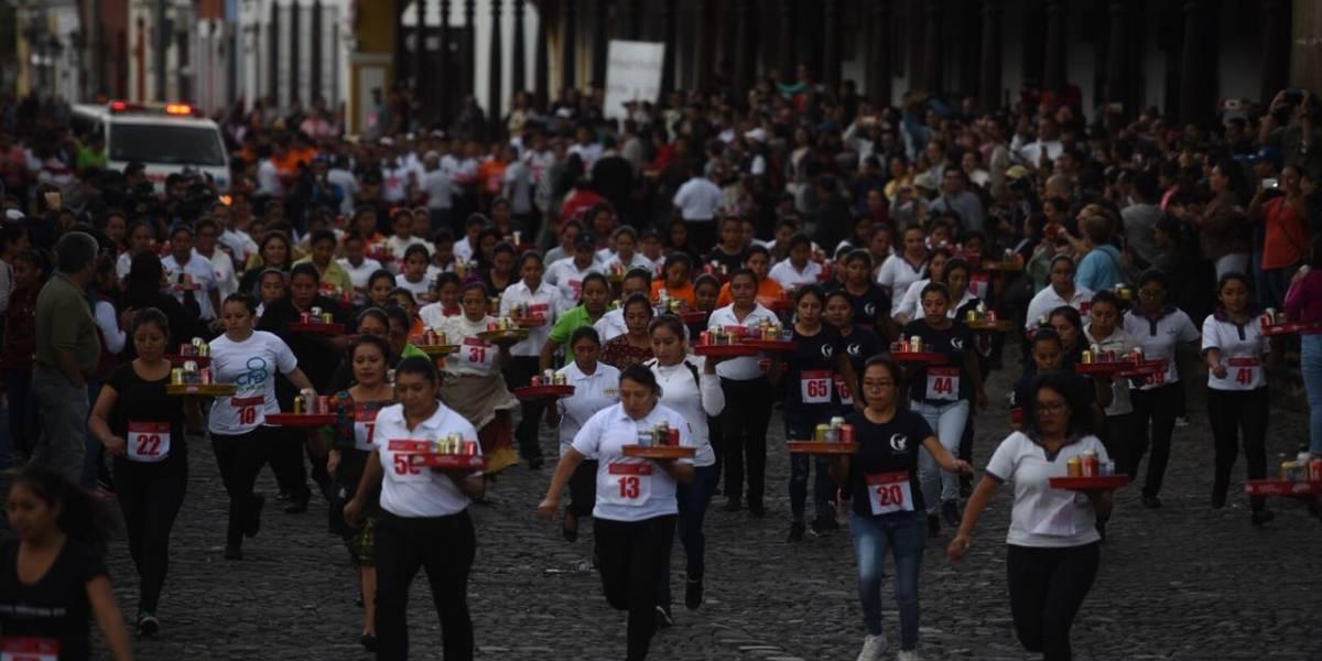 EN IMÁGENES. Así se vivió la carrera Las Charolas en Antigua Guatemala