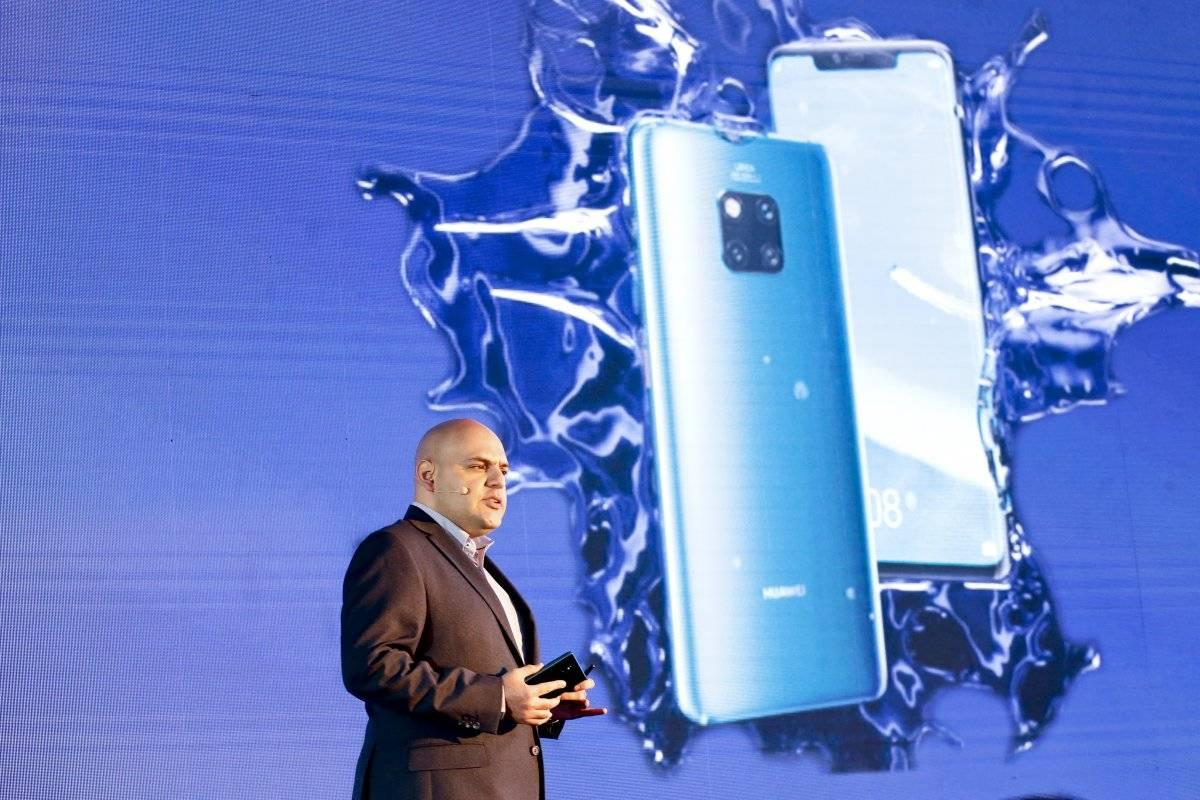 David Moheno, Director de Relaciones Públicas de Huawei para América Latina. Foto: JDS/ Publimetro