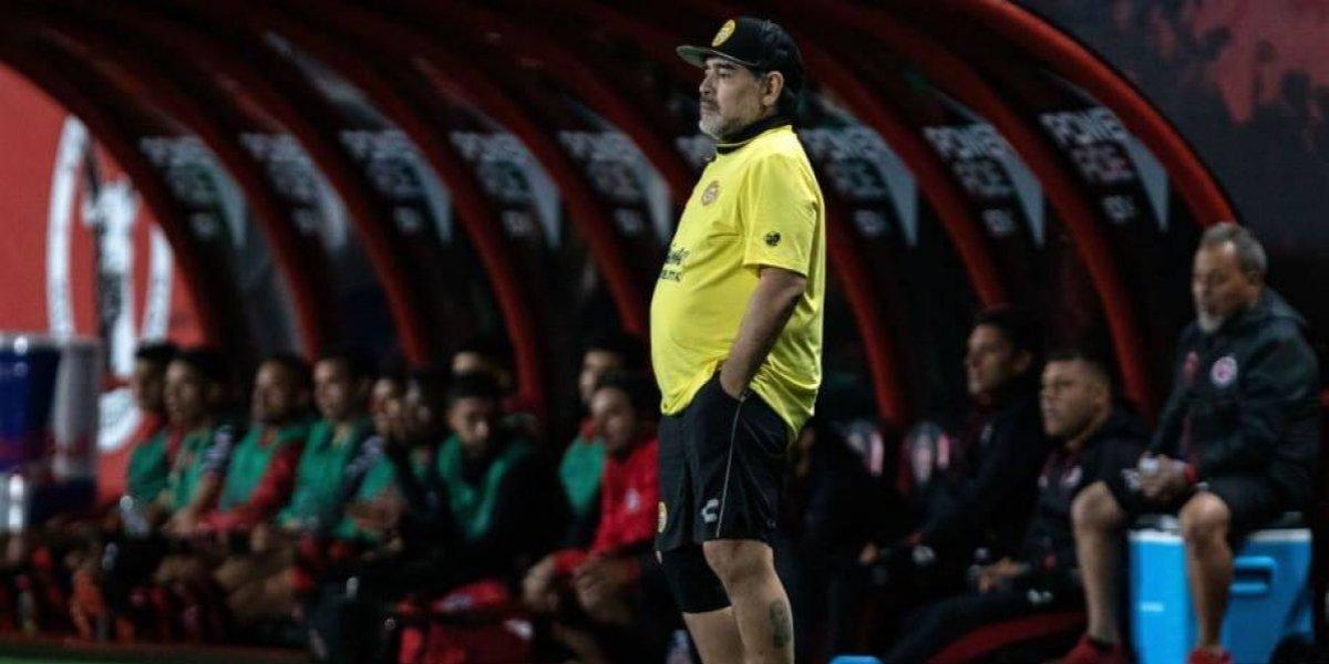 Diego Maradona sacó la voz y le exige a la Conmebol que le den el título de la Libertadores a Boca Juniors
