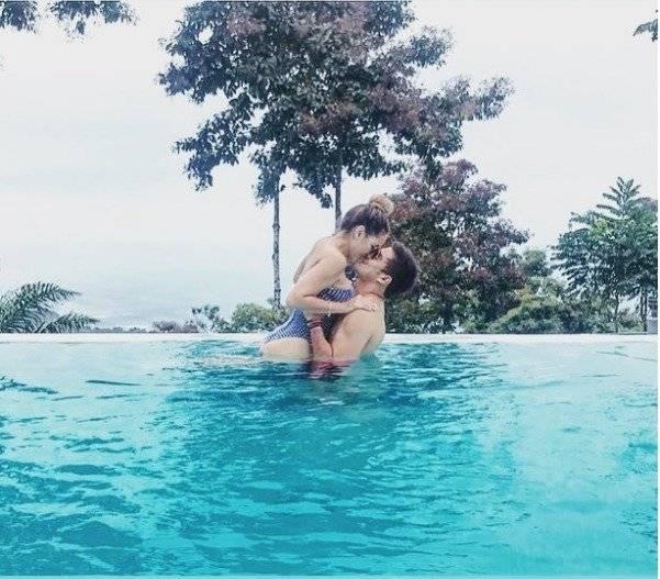 "Se enamoraron durante el rodaje de la serie ecuatoriana ""Tres Familias"" Instagram"