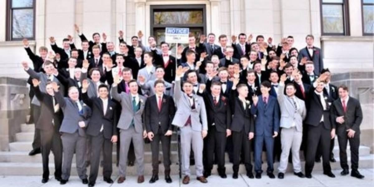 ¿Pensaron que sería divertido?: el saludo nazi de un grupo de estudiantes que indigna a Estados Unidos